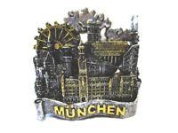 München Magnet Rathaus Marienplatz Neuschwanstein Souvenir Germany,Neu