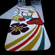 Tapis,TAILLE XXXL 170 x 500 cm Skateboard forme FOIRE pièce unique hangetuftet