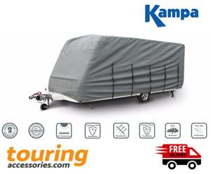 Kampa Grey Winter Caravan Cover - 400/450cm 13ft to 14.9ft - Extra Wide -881415