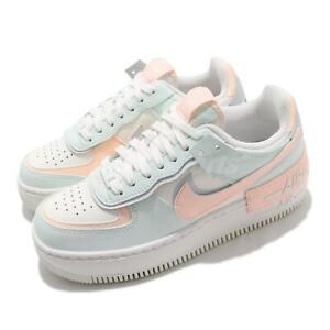 Nike W AF1 Shadow Sail Blue Orange White Women Casual Lifestyle Shoes CU8591-104
