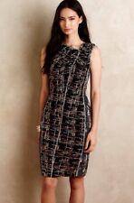 Anthropologie Byron Lars Women's London Lights Sheath Dress Size 4
