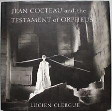 Lucien CLERGUES Dédicacé Signed : Jean Cocteau and the Testament of Orpheus 2001