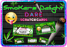 Stoner Party Dare Scratch Cards Funny Dare Scratchcards fun Wedding Invitations