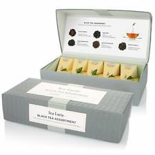 Tea Forte Petite Presentation Box Black Tea Assortment 10 Pyramid Infuser Bags