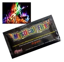 1 x Packet Genuine Mystical Fire Colour Changer Wood Burner Open Pit Chinmnea