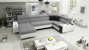 Brand New Corner Sofa Bed With Storage  Morena IV Maxi