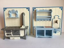 Playmobil 5322 Victorian Kitchen Stove Sink Replacement Parts Lot