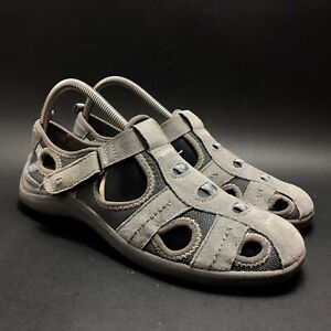 Earth Originals by Earth Womens Gray Suede Leather Shoes Size 8 M