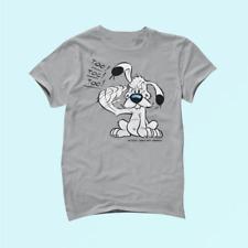 Asterix & Obelix Dogmatix Gesturing Toc Cotton T Shirt Unisex_2097