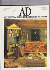 AD architectural digest.le piu' belle case del mondo N° 132