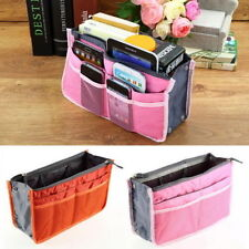 Women Insert Handbag Organiser Purse Large liner Organizer Bag Tidy Travel SY1