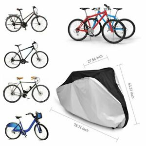 Bicycle Cycling Rain Dust Sunshine Cover Road Bicycle Mountain N9Q2