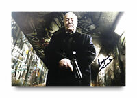 Sir Michael Caine Signed 12x8 Photo Harry Brown Autograph Memorabilia +COA