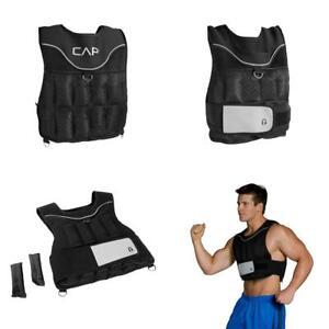 CAP Barbell (HHWV-CB020C) Adjustable Weighted Vest, 20-Pound Original Version