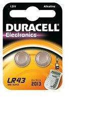 Duracell Alkaline LR43 Single Use Batteries