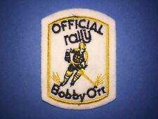 Vintage 1970's Rally Hockey Bobby Orr Boston Bruins Hipster Jacket Hat Cap Patch