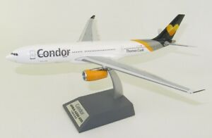 JFOX JFA3302004 1/200 CONDOR (AIRTANKER) AIRBUS A330-243 REG: G-VYGK WITH STAND