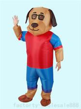 Adults Inflatable Dog Mascot Costume Suit Boy Girl Fancy Dress Unisex Handmade A