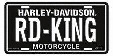 Harley-Davidson RD-KING Road King License Plate - 1895