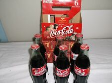 Coca Cola Christmas 2000 Six  Pack Limited Edition  Unopened  W/Paper Container