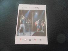 DIRE STRAITS SPAIN SPANISH CARD CROMO SUPER EXITO 1984