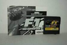 F1 WORLD CHAMPIONSHIP EDITION GIOCO USATO GAME GEAR ED EUR CARTUCCIA FR1 52617
