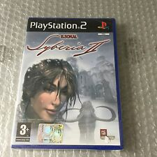 VINTAGE# PS2 PLAYSTATION  SYBERIA II 2 #PAL SEALED ITA