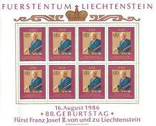 Liechtenstein Kleinbogen Li 903 postfrisch 1986