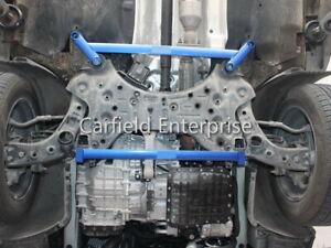 2016-2021 KIA Sorento 3rd Gen UM Chassis Ladder Brace Front Strut Bar Full Set
