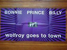 Bonnie Prince Billy Wolfroy Goes To Town promo poster Drag City, Angel Olsen