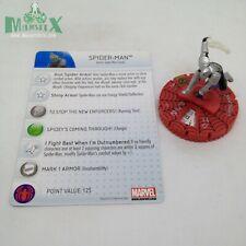 Heroclix Amazing Spider-Man set Spider-Man (armor) #054 Chase figure w/card!