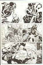 Five Cool Venom Commissions - 2010 Signed art by Sean Chen, Martineck, Atkins Comic Art