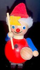 STEINBACH Germany Wood Christmas Ornament Soccer Ball Hand Made