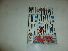 JUSTICE LEAGUE of AMERICA Comic - No 261-  Date 04/1987 - DC Comic (Last Issue)