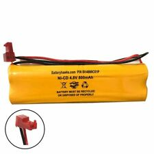 MAX POWER 4.8 VOLTS-600m Ni-CD Battery Pack Replacement for Emergency / Exit Lig