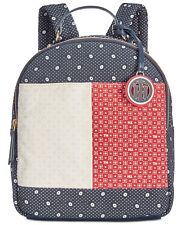 Tommy Hilfiger Flag Bandana Small Sized Backpack NWT Navy Blue Red White