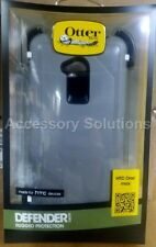 OtterBox Defender HTC One Max Case Cover W/ Beltclip Gray / White, 77-34021