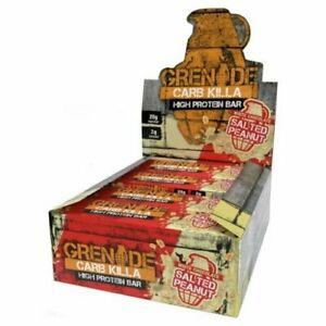 Grenade Carb Killa Bars - White Chocolate Salted Peanut - 12 X 60g
