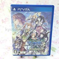 USED PS Vita Eiyuu Densetsu Sora no Kiseki the 3rd Evolution PSV 65116 JP IMPORT