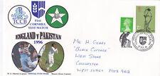 GB 1996 EnglandvPakistan 1st Test Match Lords Cover VGC
