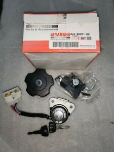 GENUINE YAMAHA RD350LC LOCK SET IGNITION SEAT FUEL CAP 4L0-W8201-00 4L0W820100
