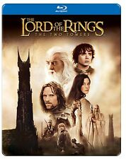 LORD OF THE RINGS : TWO TOWERS (Steelbook)  BLU RAY   - Sealed Region free