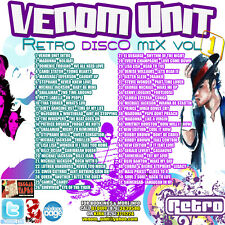 Venom Unit - Retro Disco Vol. 1 Mix CD