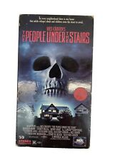THE PEOPLE UNDER THE STAIRS VHS [Wes Craven, 1992]