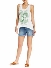 REBECCA MINKOFF Women's Light Blue Wash Beverly Jean Shorts Sz 30 $98 NWT
