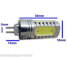 10x G4 Base 7.5W DC 12V LED Warm White Light Bi-Pin COB Non Dimmable  Bulb Lamp