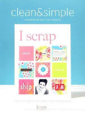 Clean & Simple Scrapbooking - The Digital Kit - I Scrap