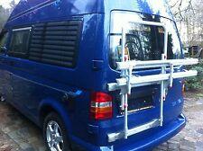 VW Bus T4 Fahrradträger Fiamma Alu neu für Hohe FLÜGELTÜREN Hochdach Nur bei uns