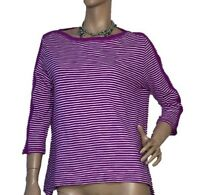 DAVID LAWRENCE WOMEN'S SIZE L COTTON KNITTED TOP