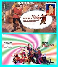 Disney Villains Beauty and the Beast, Gaston First Day Cover with Color Cancel